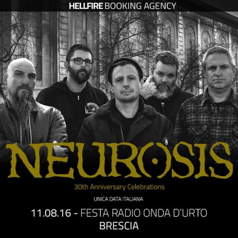 "Neurosis - ""30Th Anniversary Celebrations"" 2016 Promo"