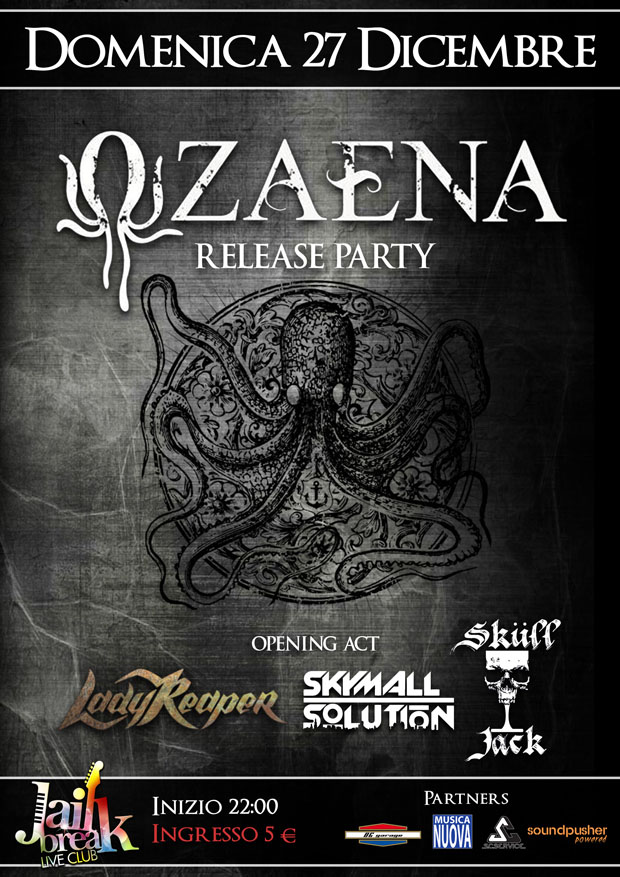 Ozaena - Benetah The Ocean release party 2015 Promo