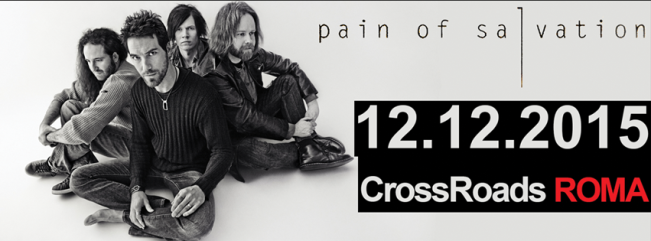 Pain Of Salvation + Echotime @ Crossroads - 12 12 2015