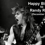 Randy Rhoads | 6 dicembre 1956 – 19 marzo 1982