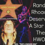 Randy Rhoads   6 dicembre 1956 – 19 marzo 1982