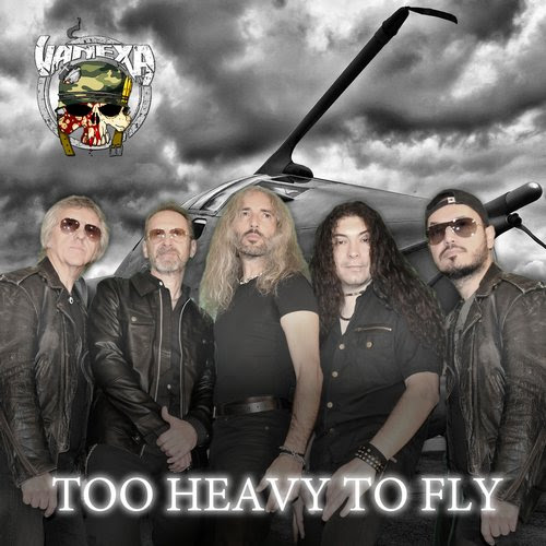 Vanexa - Too Heavy To Fly - Single Cover