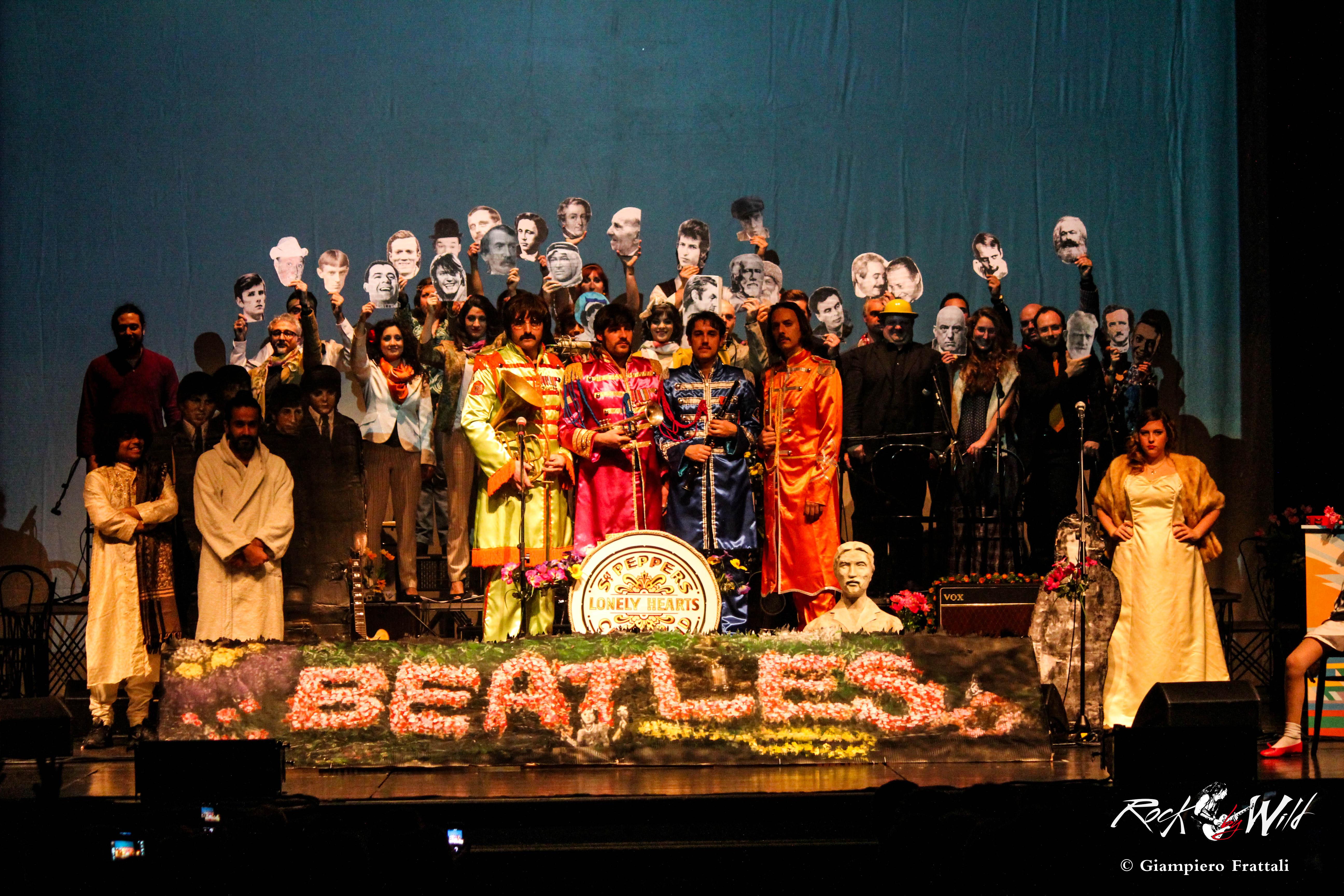 Across The Beatles: Satisfaction Guaranteed @ Teatro Olimpico – 05 01 2016