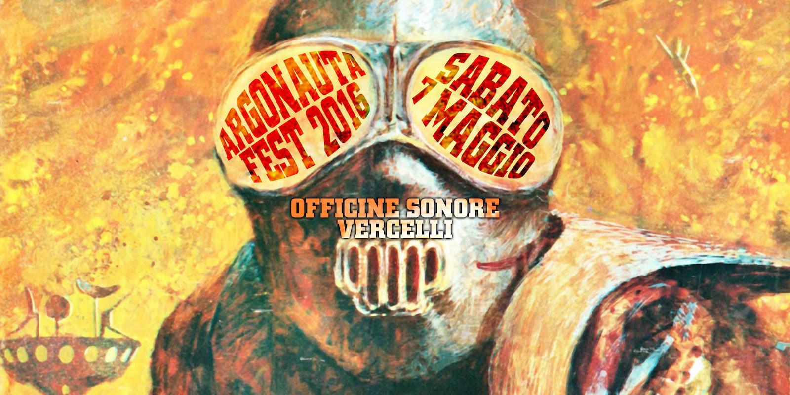 Argonauta Fest 2016 a maggio alle Officine Sonore di Vercelli - Promo
