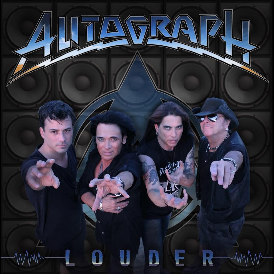 Autograph - Louder - Album Cover
