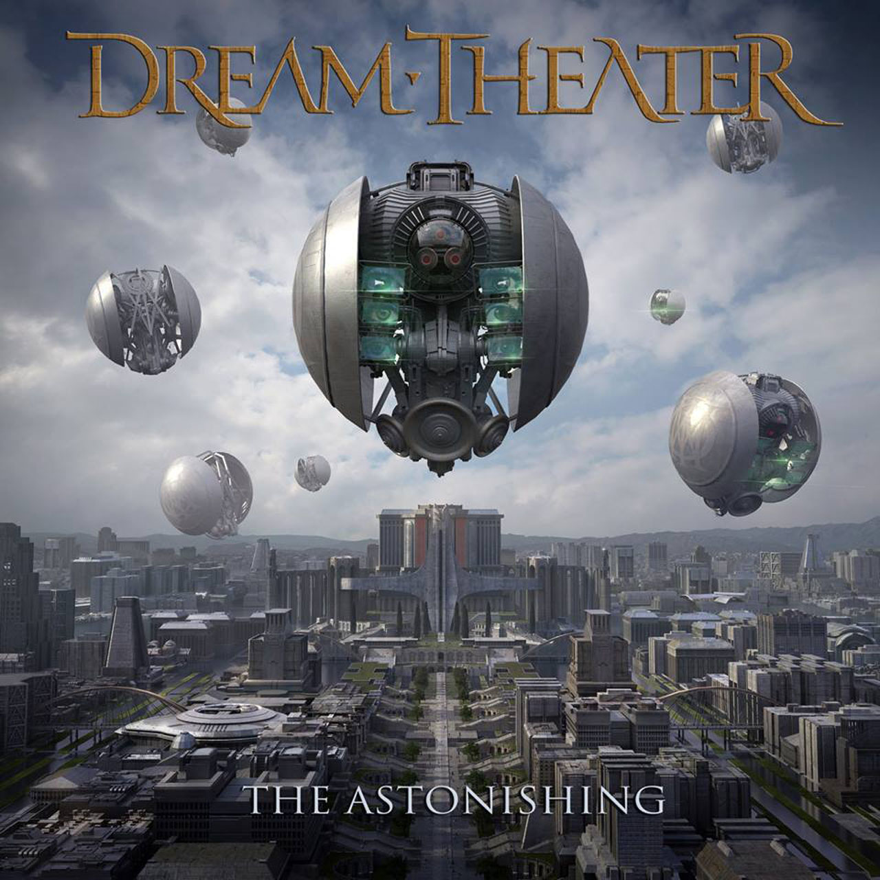 Dream Theater - The Astonishing - Album Cover