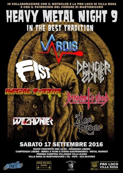 Heavy Metal Night Festival - 2016 - Promo