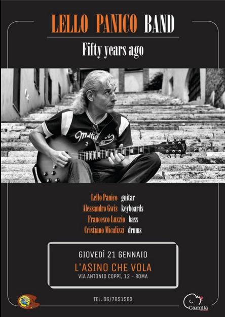 Lello Panico Band @ L'Asino Che Vola - 21 01 2016 Promo