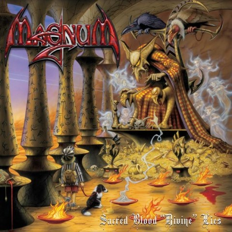 Magnum - Sacred Blood Divine Lies - Album Cover