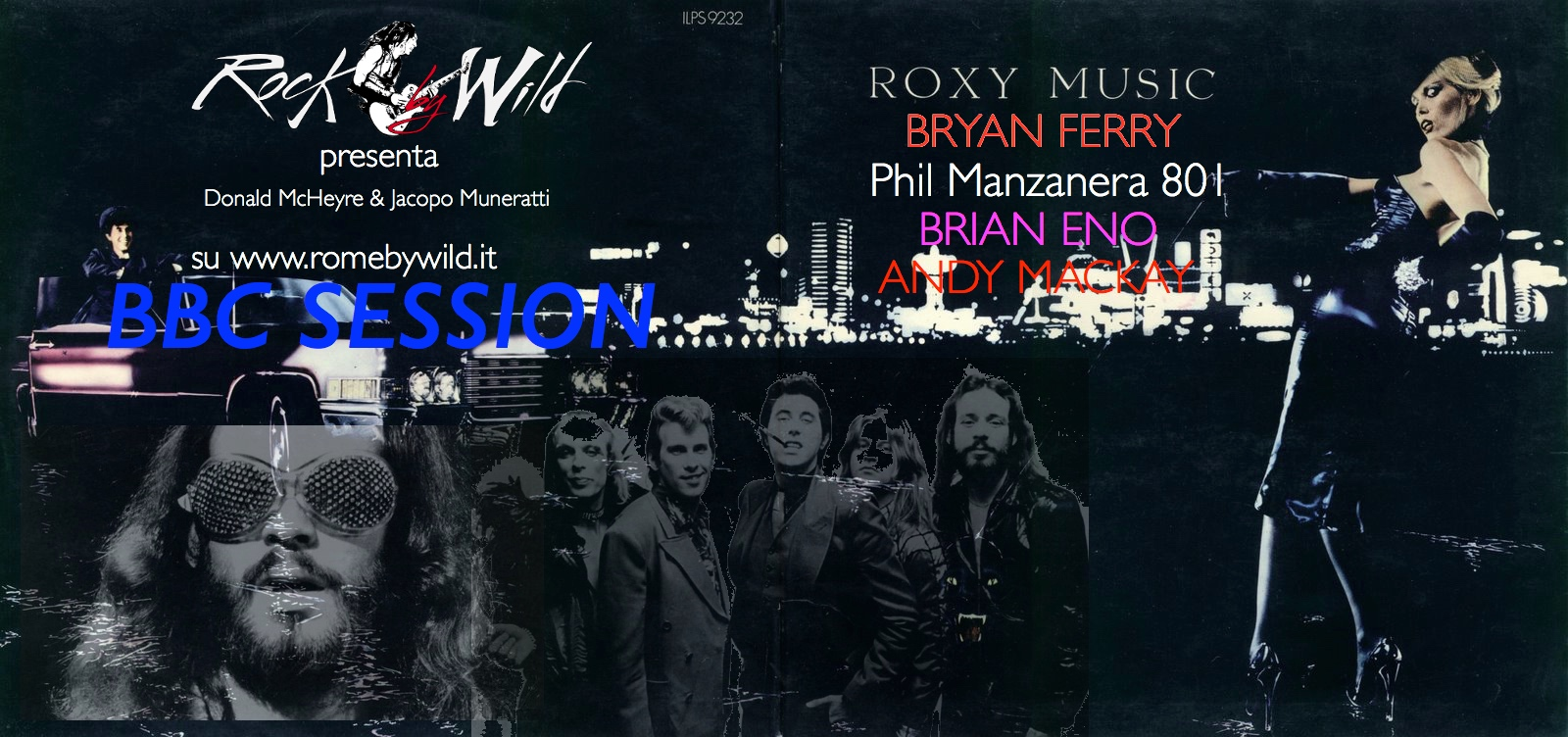 BBC session 7° Puntata: Roxy Music