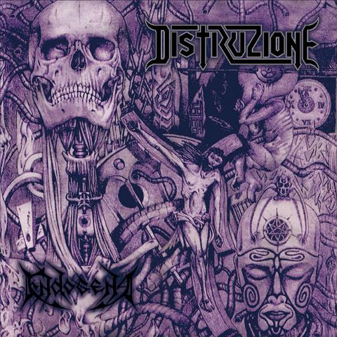 Distruzione - Endogena - Album cover