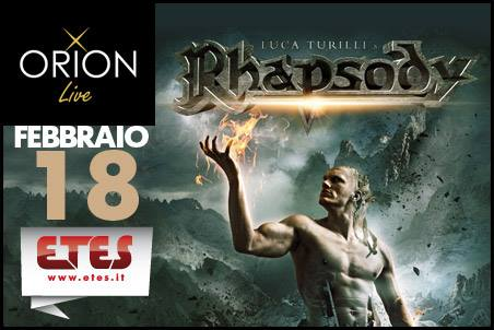 Luca Turilli's Rhapsody + Ancient Bards + Temperance @ Orion - 18 02 2016