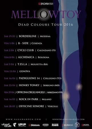 Mellowtoy - Dead Colours Tour 2016 Promo