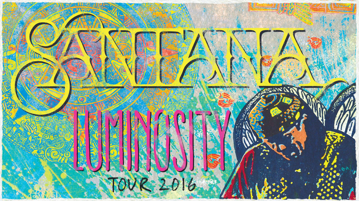 Santana - Luminosity Tour 2016 Promo