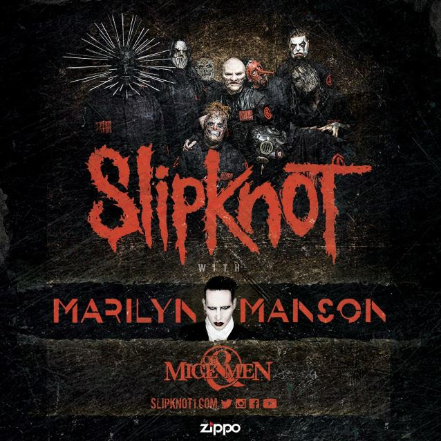 Slipknot e Marilyn Manson + Of Mice & Men in Tour