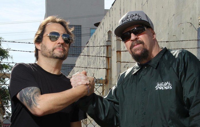 Suicida Tendencies - Dave Lombardo - Mike Muir
