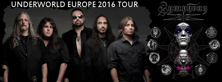 Symphony X a Milano per l'Underworld Europe Tour 2016