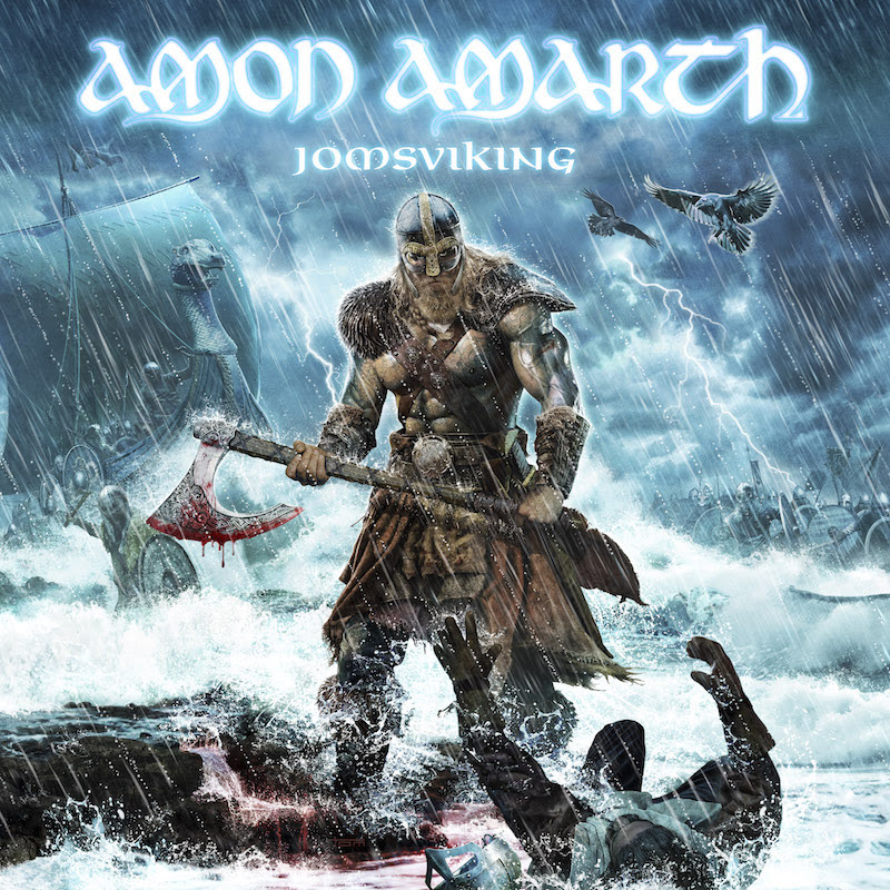Amon Amarth - Jomsviking - Album Cover