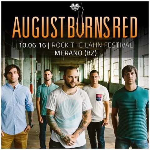 August Burns Red a Merano @ Rock The Lahn Festival 2016 Promo