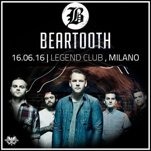 Beartooth @ Legend Club - 16 06 2016