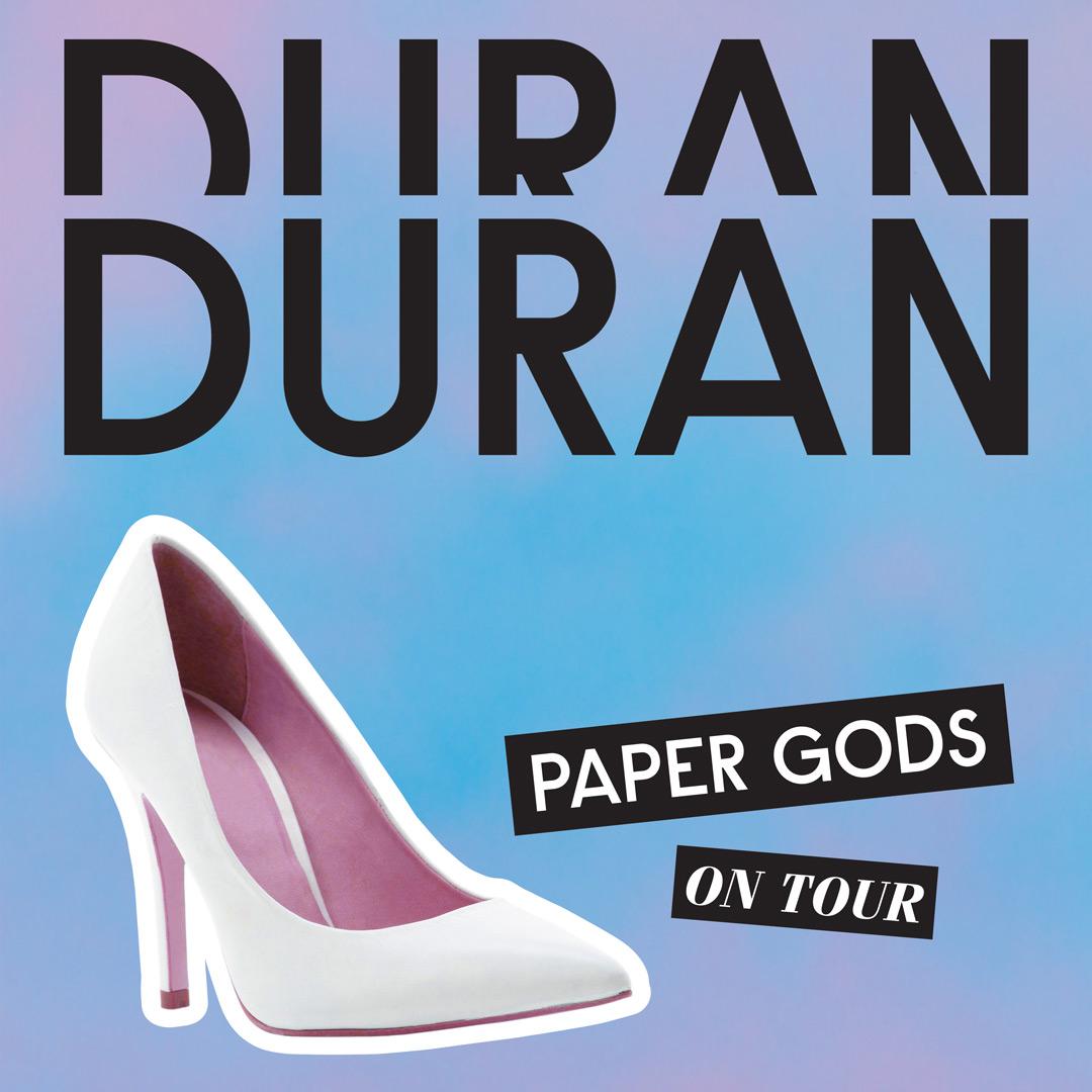 """Duran Duran a Roma per il """"Paper Gods Tour"""" Promo 2016"""