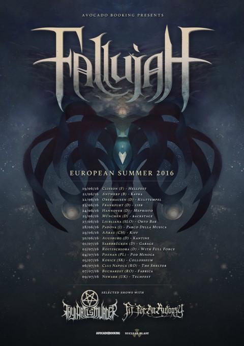 Fallujah a Padova per lo European Summer 2016 Tour