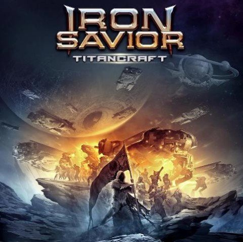 Iron Savior - Titancraft - Album Cover