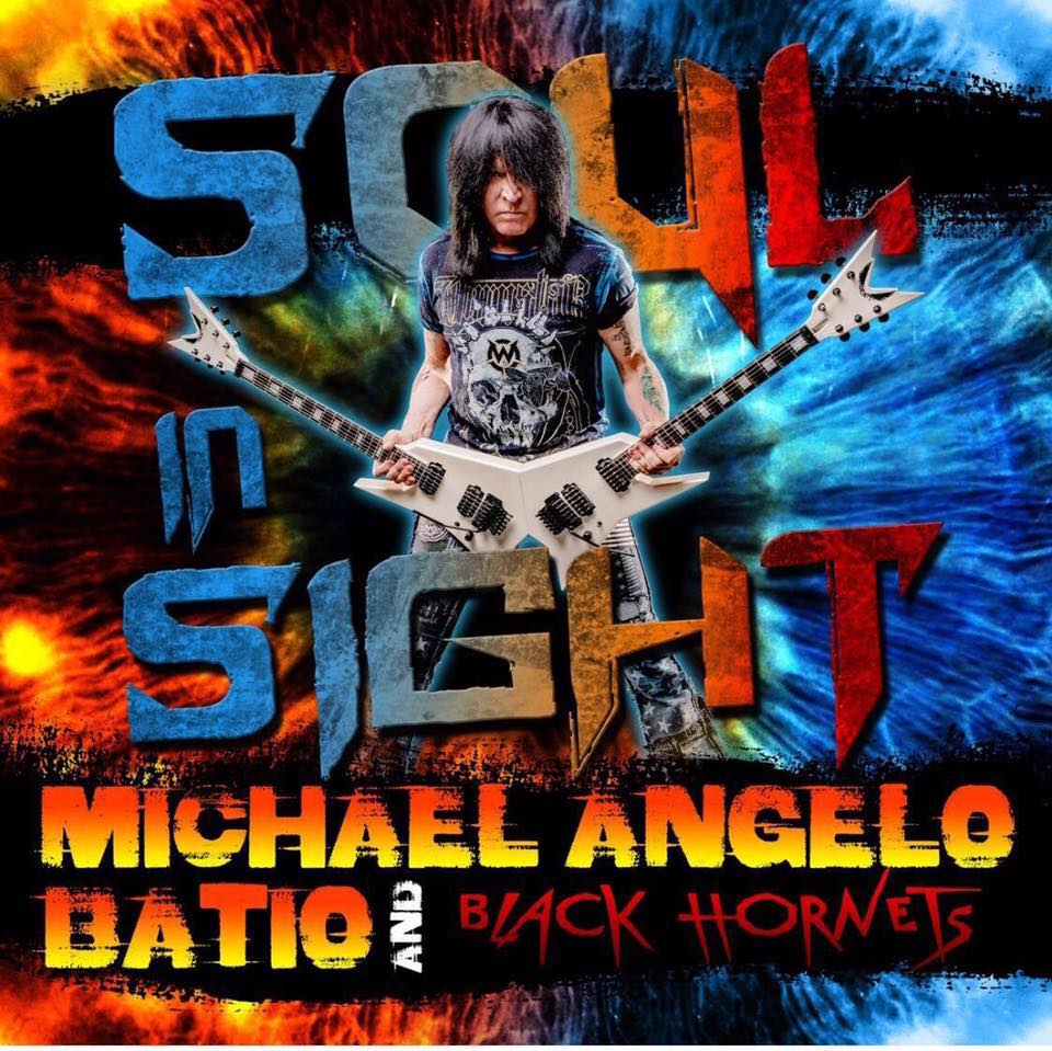 Michael Angelo Batio + The Black Hornets - Soul In Sight - Album Cover