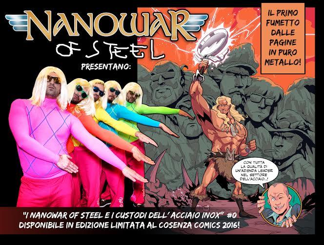 Nanowar Of Steel - I Custodi Dell' Acciaio Inox