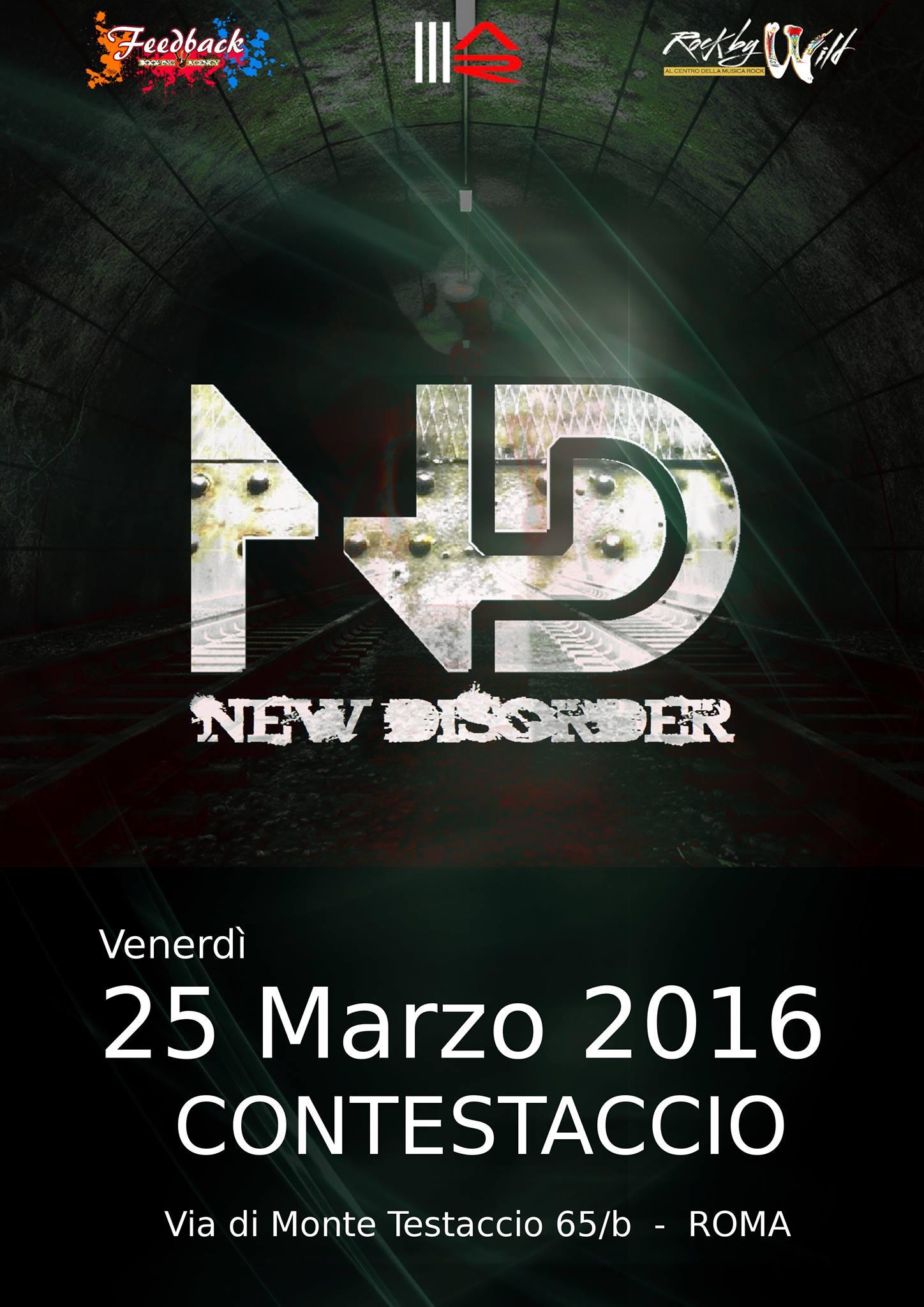 New Disorder live @ Contestaccio - 25 03 2016