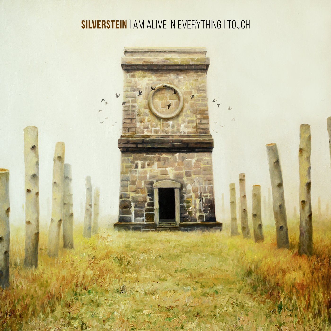Silverstein - I Am Alive In Everything I Touch - Album Cover