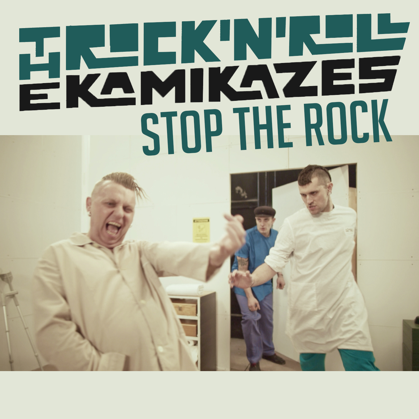 The Rock And Roll - Kamikazes - Stop The Rock - Singolo Cover