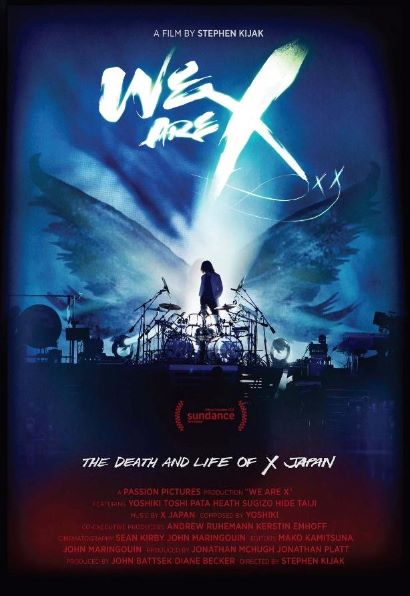 X Japan - We Are X - Locandina Film