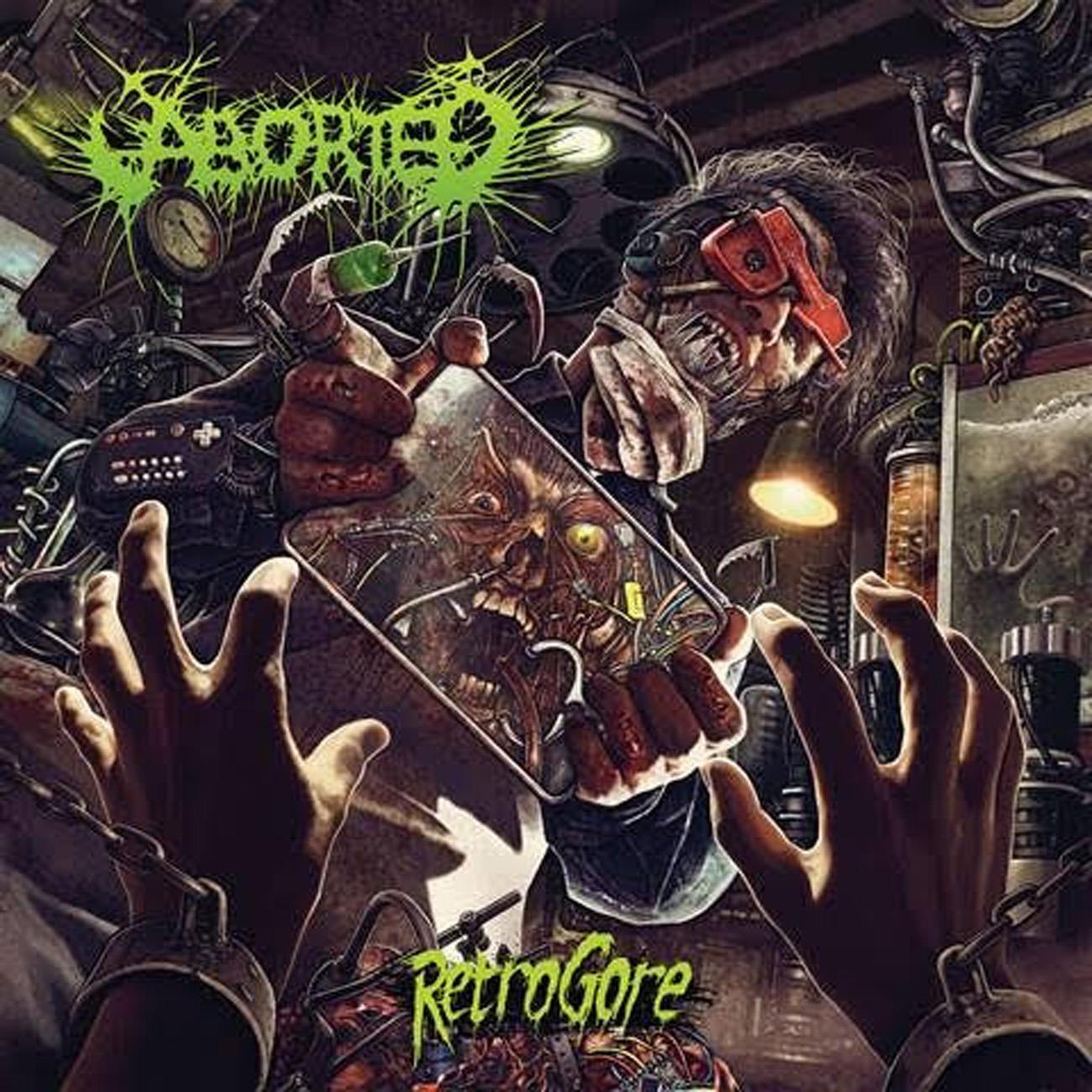 Aborted - Retrogore - Album Cover