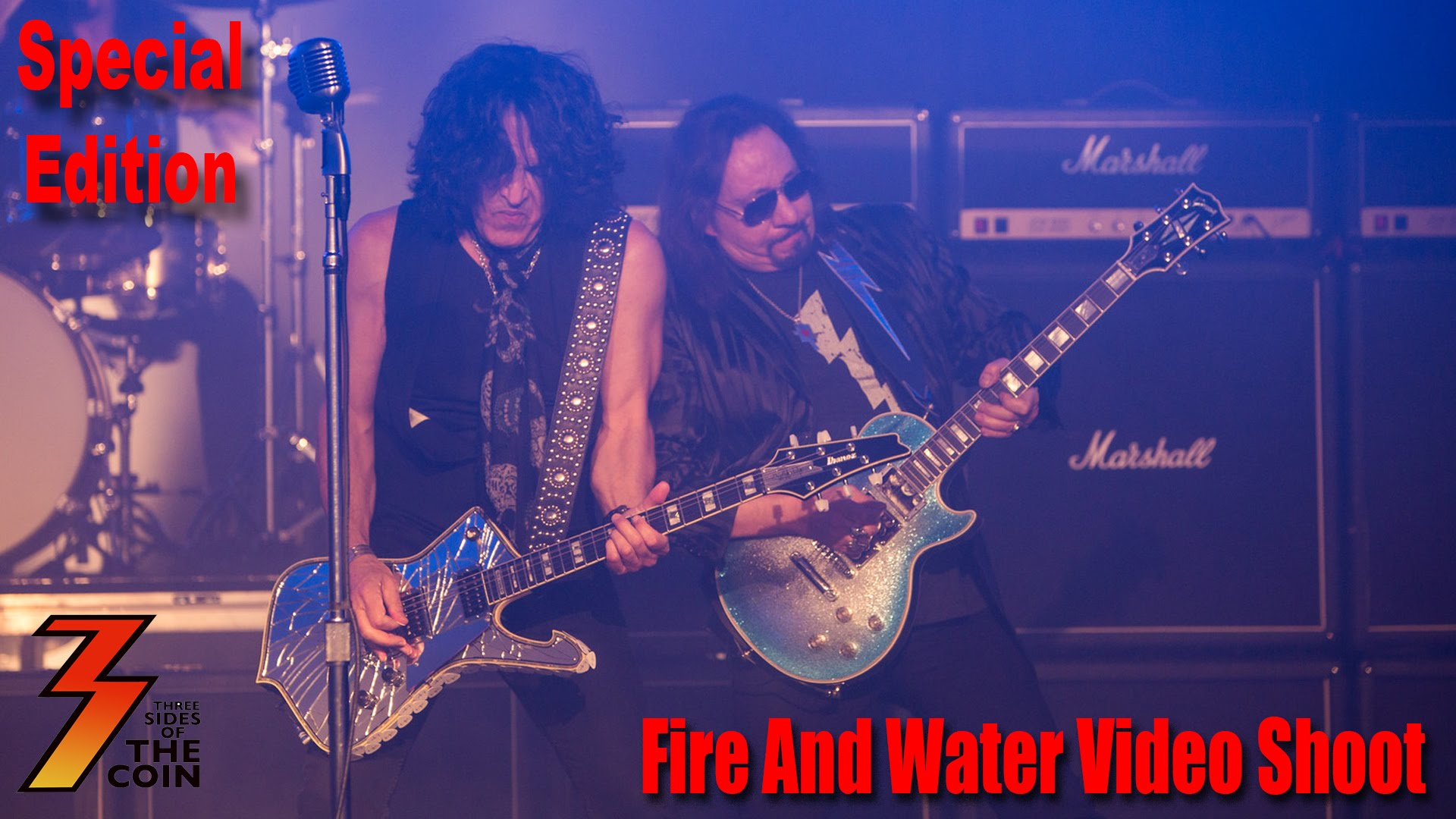 Ace Frehley - Paul Stanley - Fire And Water - Promo