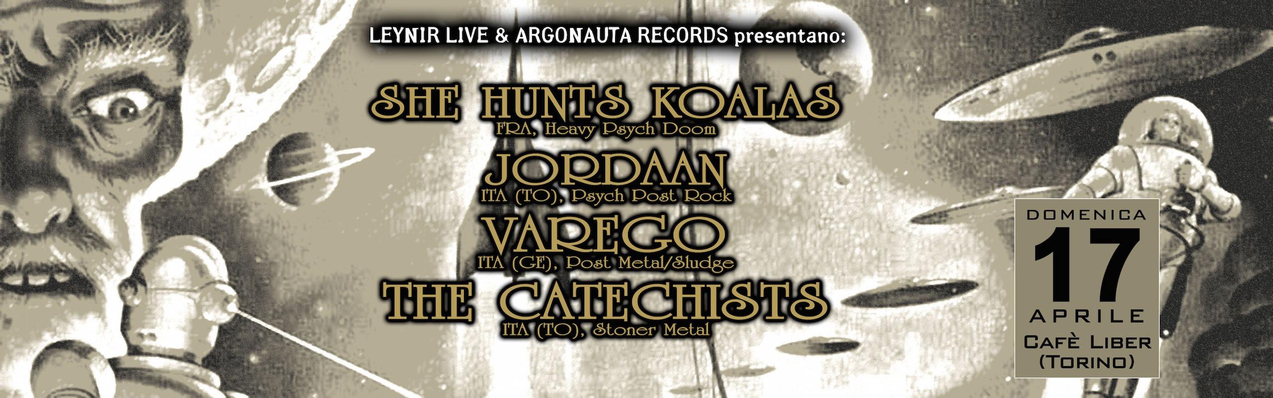 Argonauta Fest Warm Up - 2016 @ Cafè Liber - Torino