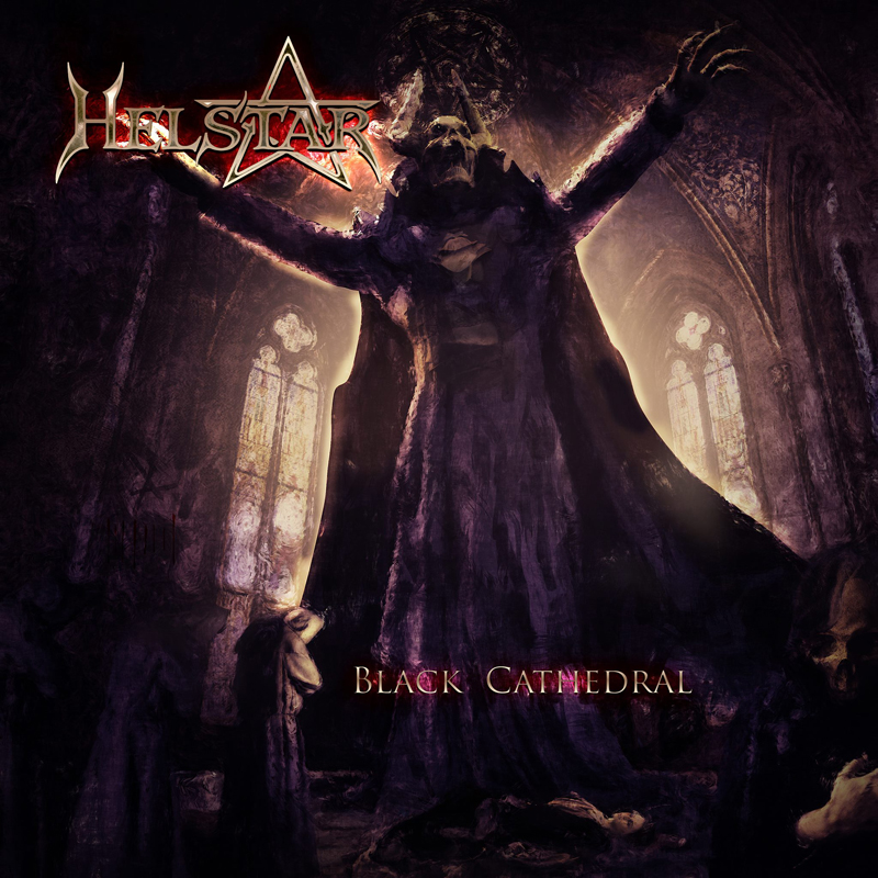 Helstar - Black Cathedral - Album Cover