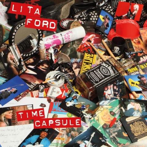 Lita Ford - Time Capsule - Album Cover