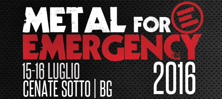 Metal For Emergency 2016 Promo