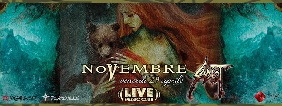 Novembre - Live Music Club 2016 Promo