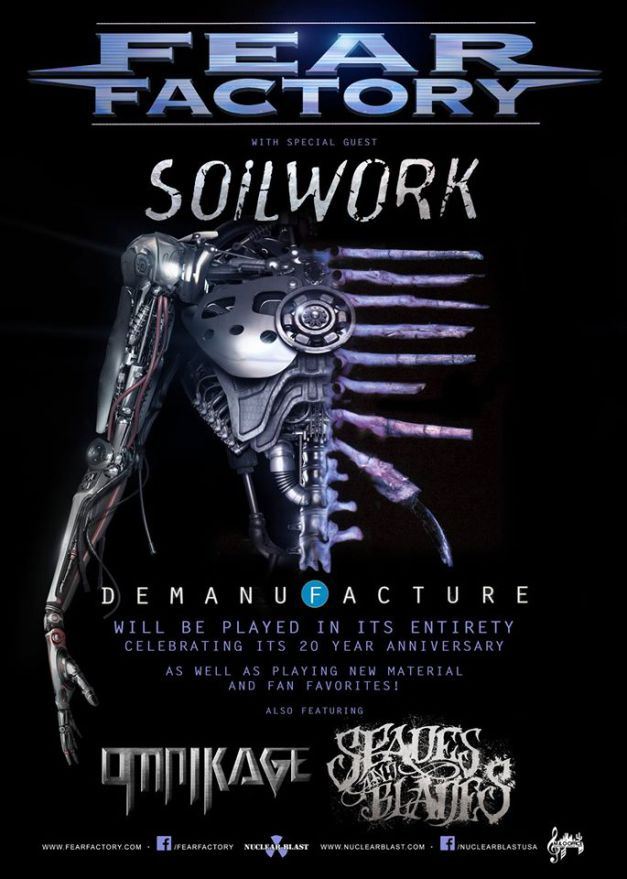 Omnikage touring with Fear Factory and Soilwork