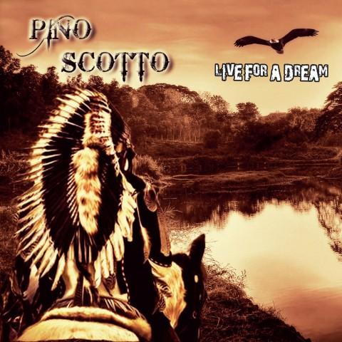 Pino Scotto - Live For A Dream - Album Cover