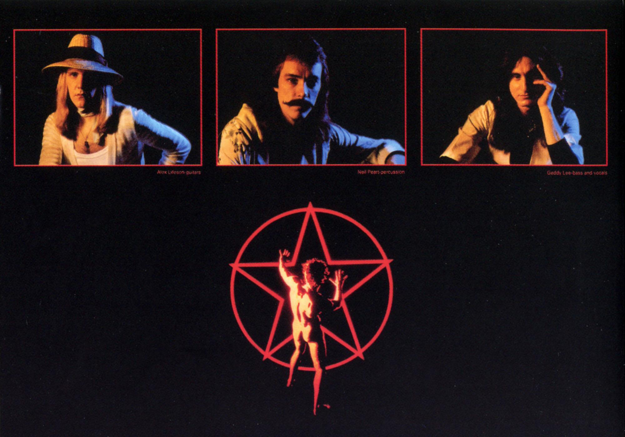 Rush - 2112 - Back Album Cover - Cut