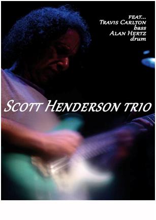 Scott Henderson Trio @ L'Asino Che Vola 2016 Promo