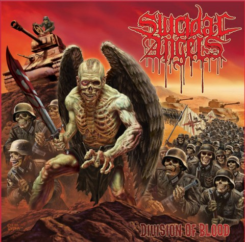 Suicidal Angels - Division Of Blood - Album Cover