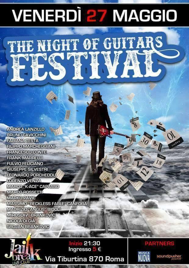 The Night Of Guitars Festival - Jailbreak Live Club 2016 Promo