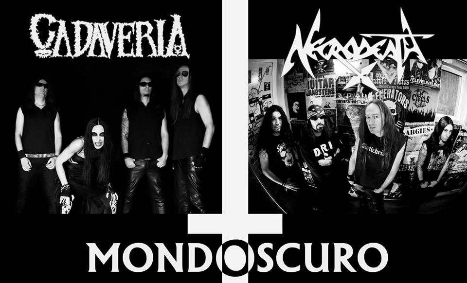 Cadaveria - Necrodeath - Mondoscuro - EP - Cover