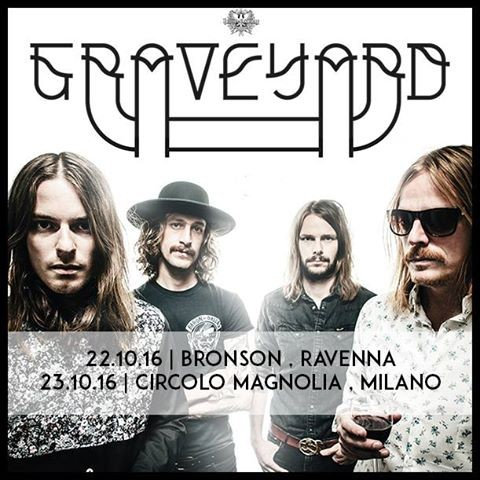 Graveyard - Bronson - Circolo Magnolia 2016 Promo