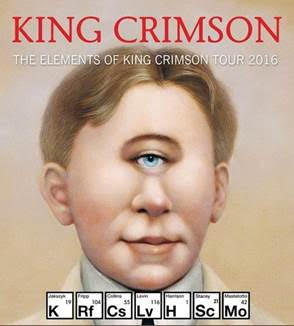 King Crimson - The Elements Of King Crimson Tour 2016 - Promo