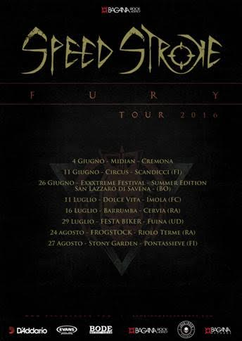 Speed Stroke - Fury Tour 2016 - Promo